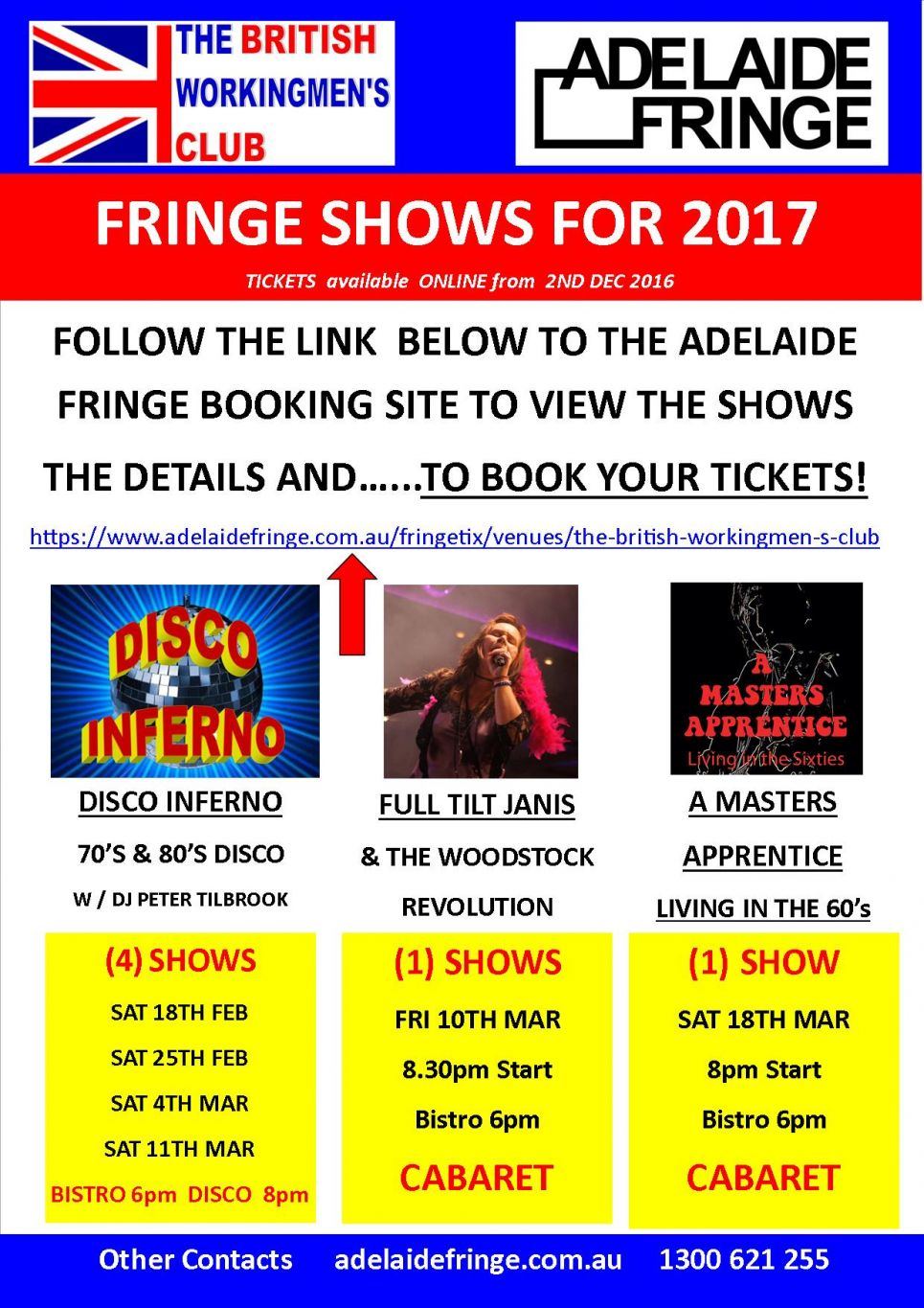 A LINK TO BUY FRINGE TICKETS 2017